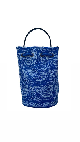 The Blue Bandana Bucket