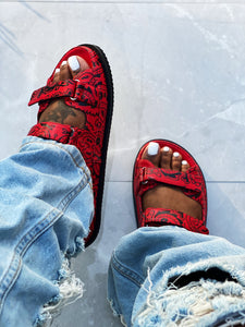 The Girlfriend Sandal - Red