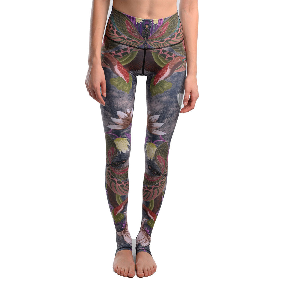 6 Style Move Brand Sexy Stretched Leggings Clothes Spandex 3D Dragonfly Print Leggins Women Pants Fitness Yoga Pants Jeggings