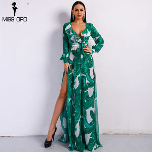 Deep Palm Dress
