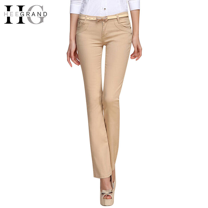 HEE GRAND 2019 New Work Trend Women Long Pants.
