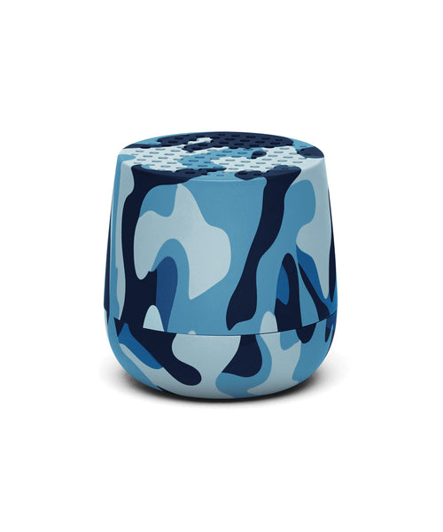 Lexon Mino TWS Pairable Bluetooth Speaker - Camo Blue