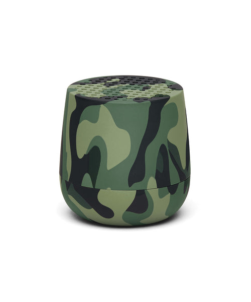 Lexon Mino TWS Pairable Bluetooth Speaker - Camo Green