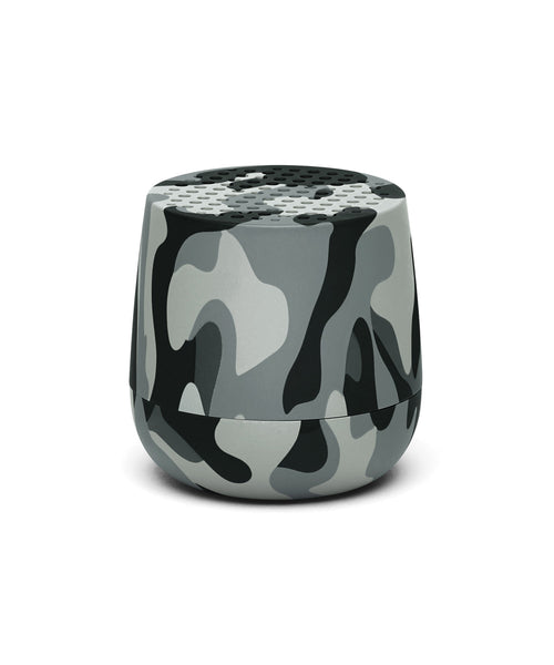 Lexon Mino TWS Pairable Bluetooth Speaker - Camo Grey