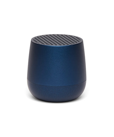 Lexon Mino TWS Pairable Bluetooth Speaker - Dark Blue