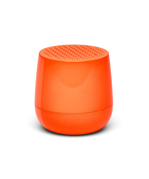 Lexon Mino TWS Pairable Bluetooth Speaker - Fluo Orange