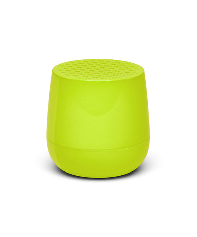 Lexon Mino TWS Pairable Bluetooth Speaker - Fluo Yellow