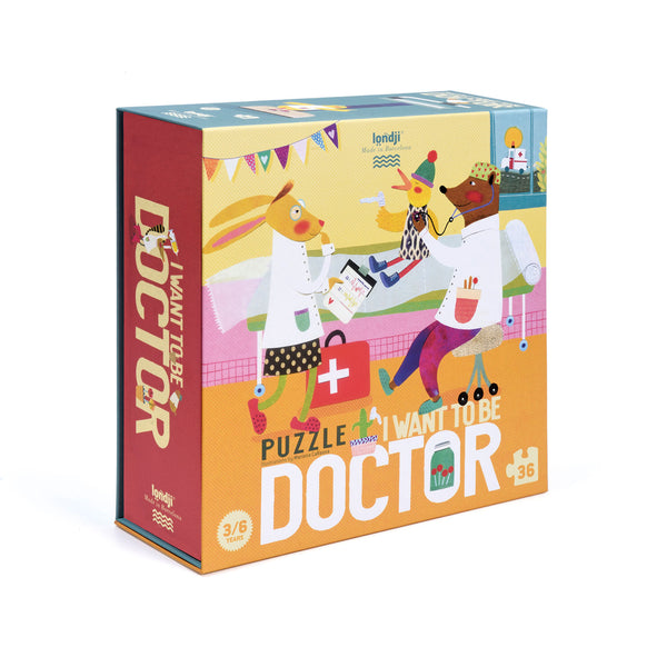 Londji Puzzle - I Want To Be... Doctor