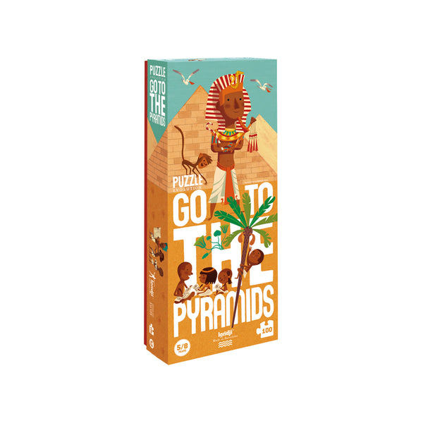 Londji Puzzle - Go To The Pyramids