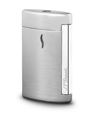 S.T. Dupont Minijet Lighter - Brushed Chrome