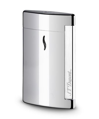 S.T. Dupont Minijet Lighter - Glossy Chrome