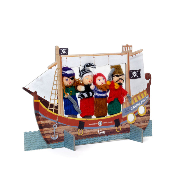 Londji Finger Puppets - Pirates