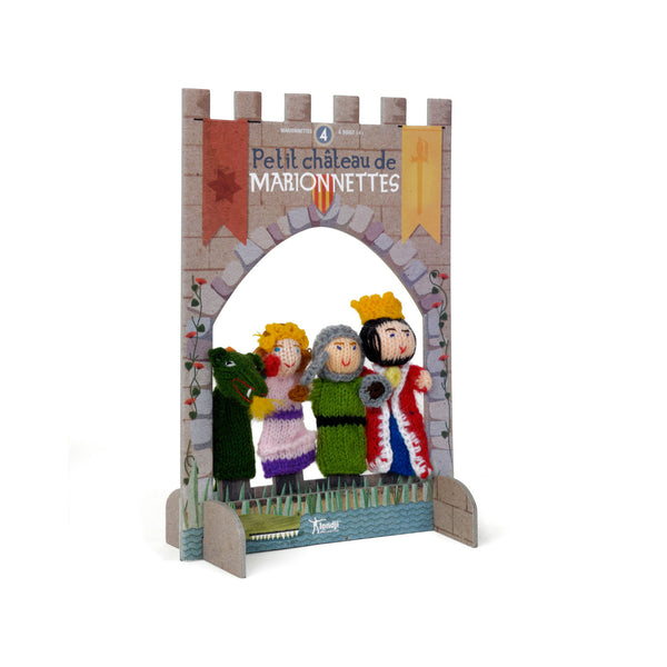 Londji Finger Puppets - Princess & the Knight