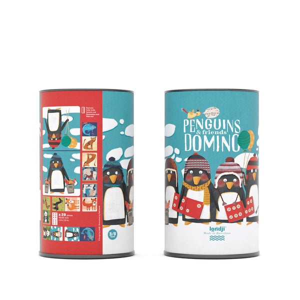 Londji Dominoes - Penguins & Friends