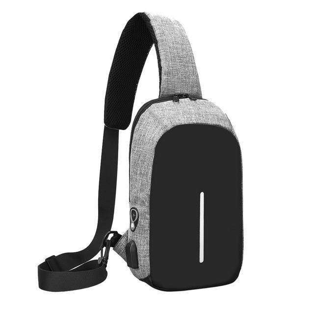 5.6 Inch Laptop Backpack Vulcan Mart grey