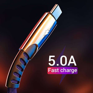 5A USB Type C Fast Charging Cord Vulcan Mart
