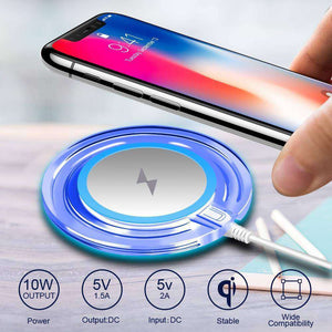 Adapter Receiver QI Wireless Charger Pad Vulcan Mart