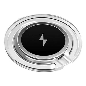 Adapter Receiver QI Wireless Charger Pad Vulcan Mart Black