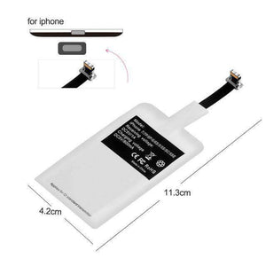 Adapter Receiver QI Wireless Charger Pad Vulcan Mart For iPhone 5.5inch