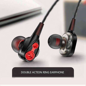 Dynamic stereo In-Ear Earphones With Microphone Vulcan Mart