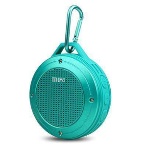 F10 Outdoor Wireless Stereo Portable Speaker Vulcan Mart Blue