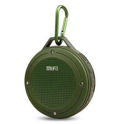F10 Outdoor Wireless Stereo Portable Speaker Vulcan Mart green
