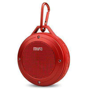 F10 Outdoor Wireless Stereo Portable Speaker Vulcan Mart Red