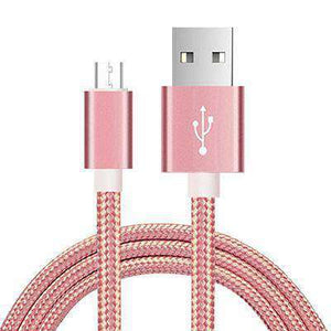 Fast Charging USB Cables Vulcan Mart Rose Gold 0.25m