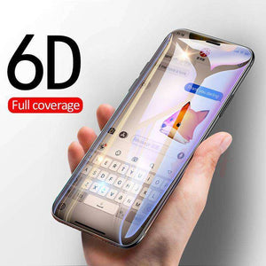 Full Cover 6D Edge Tempered Glass Vulcan Mart