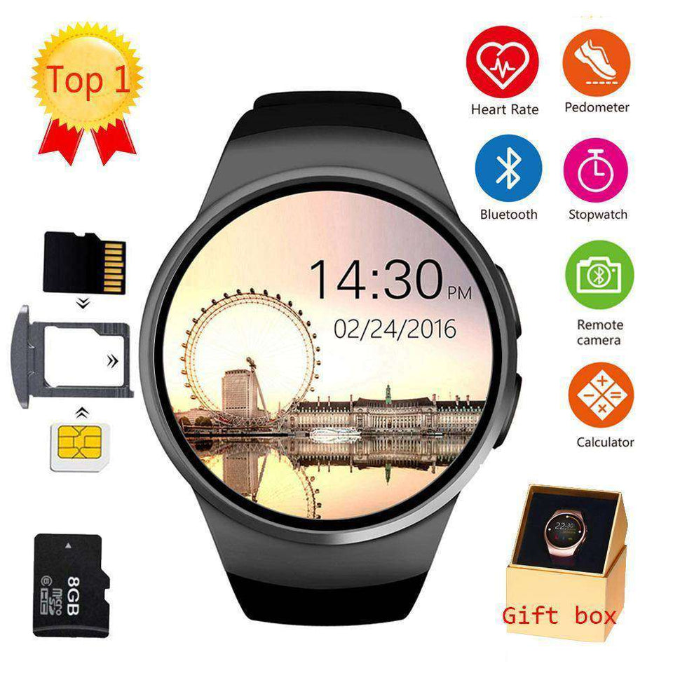 Full Screen Support SIM TF Card Smartwatch Vulcan Mart