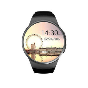 Full Screen Support SIM TF Card Smartwatch Vulcan Mart black