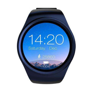 Full Screen Support SIM TF Card Smartwatch Vulcan Mart blue