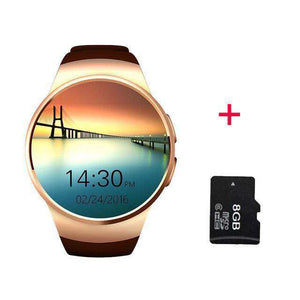 Full Screen Support SIM TF Card Smartwatch Vulcan Mart gok 8GB