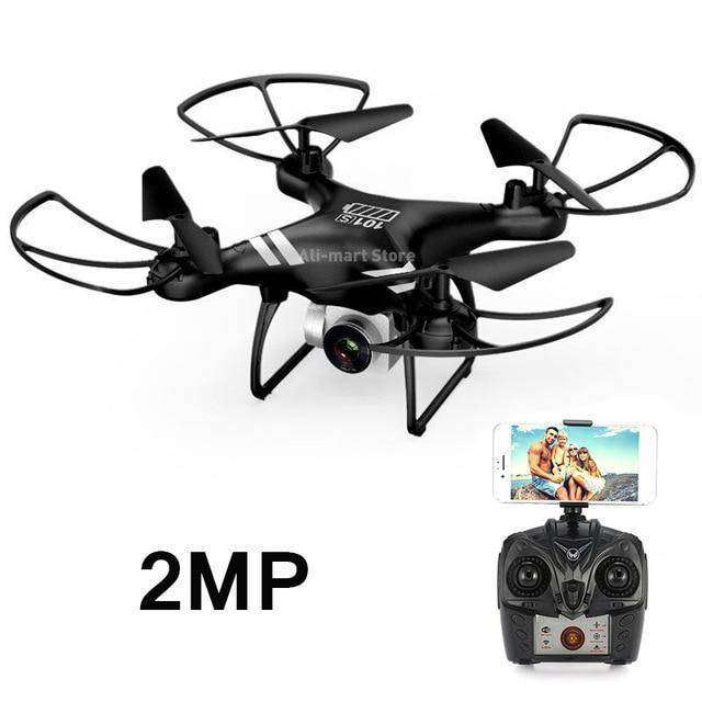 Headless RC Quadcopter Drone - Long Flight Time Vulcan Mart Black 2MP camera