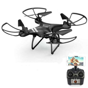 Headless RC Quadcopter Drone - Long Flight Time Vulcan Mart Black no camera
