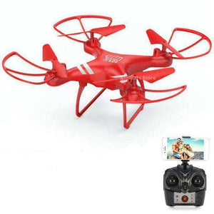 Headless RC Quadcopter Drone - Long Flight Time Vulcan Mart Red no camera