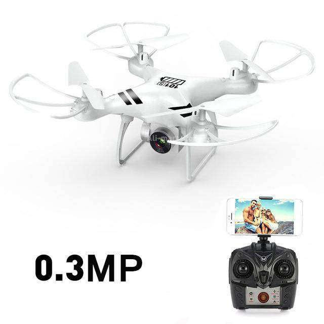 Headless RC Quadcopter Drone - Long Flight Time Vulcan Mart White 0.3MP camera