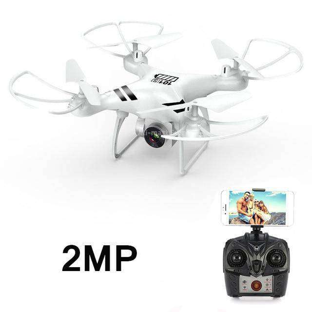 Headless RC Quadcopter Drone - Long Flight Time Vulcan Mart White 2MP camera