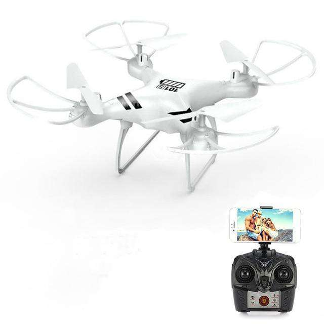 Headless RC Quadcopter Drone - Long Flight Time Vulcan Mart White no camera