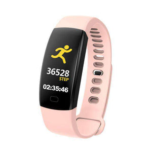 Heart Rate Pedometer Smart Watch Vulcan Mart Camel