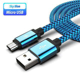 Micro USB Charging Cable For Samsung Vulcan Mart Blue Cable Only Only Charger