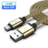 Micro USB Charging Cable For Samsung Vulcan Mart Gold Cable Only Only Charger