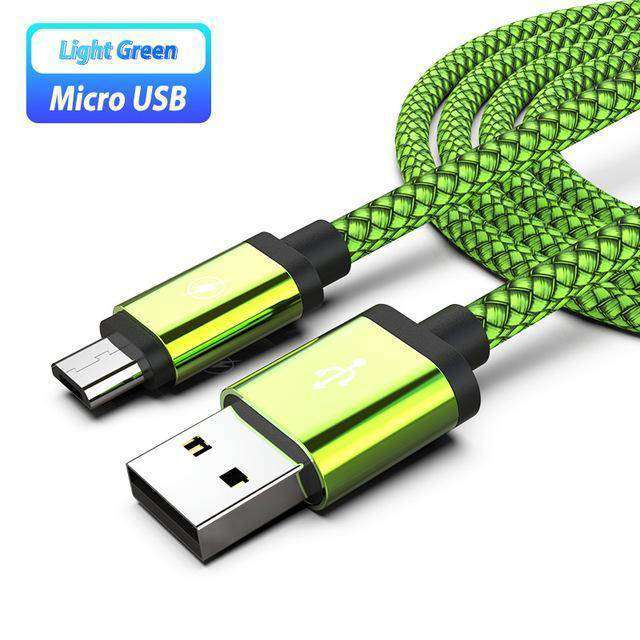 Micro USB Charging Cable For Samsung Vulcan Mart Green Cable Only Only Charger