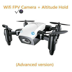Mini Drone with Camera Vulcan Mart white with camera