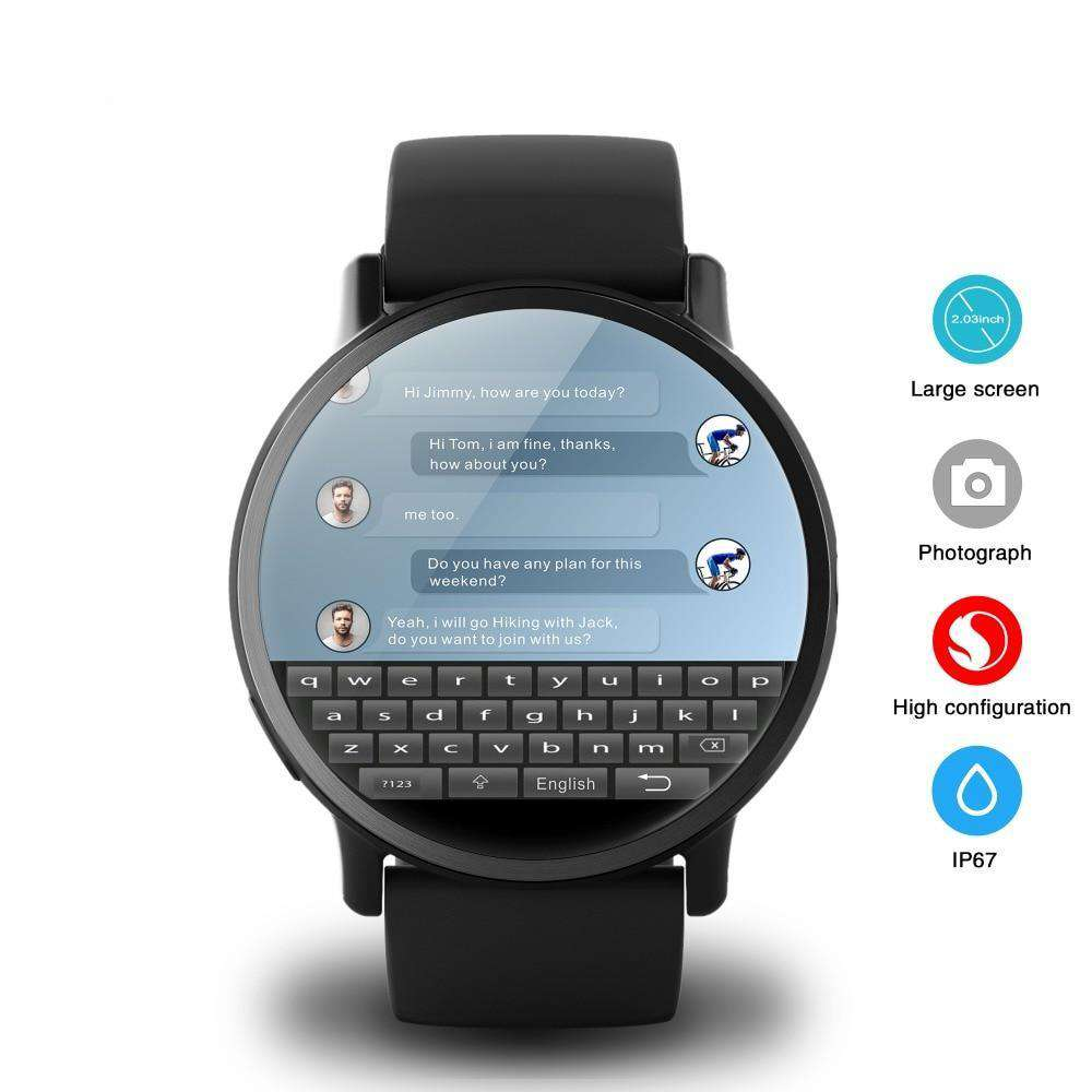 4G Smart Watch Android
