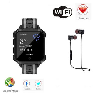 Waterproof GPS Smartwatch