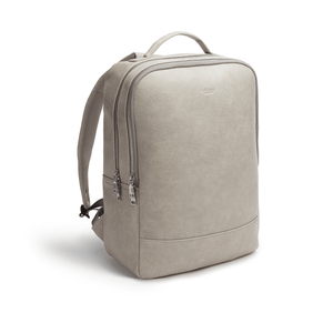 Acacia Grey Unisex Vegan Sustainable Laptop Backpack