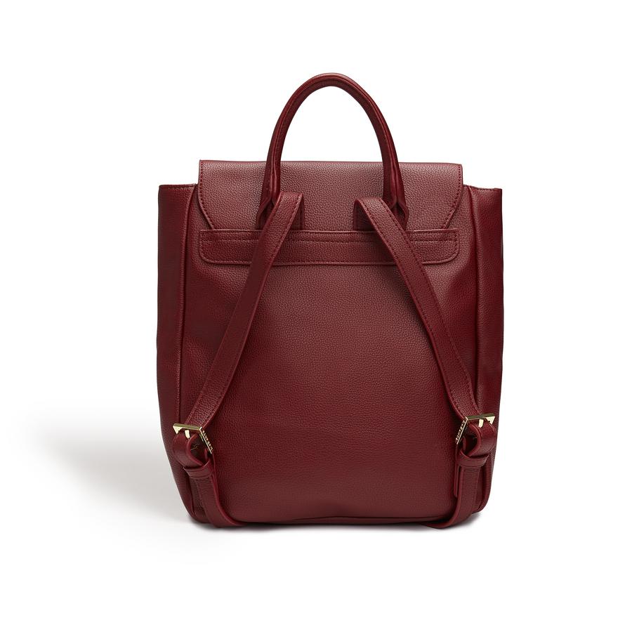 Miley Bordeaux Small Backpack