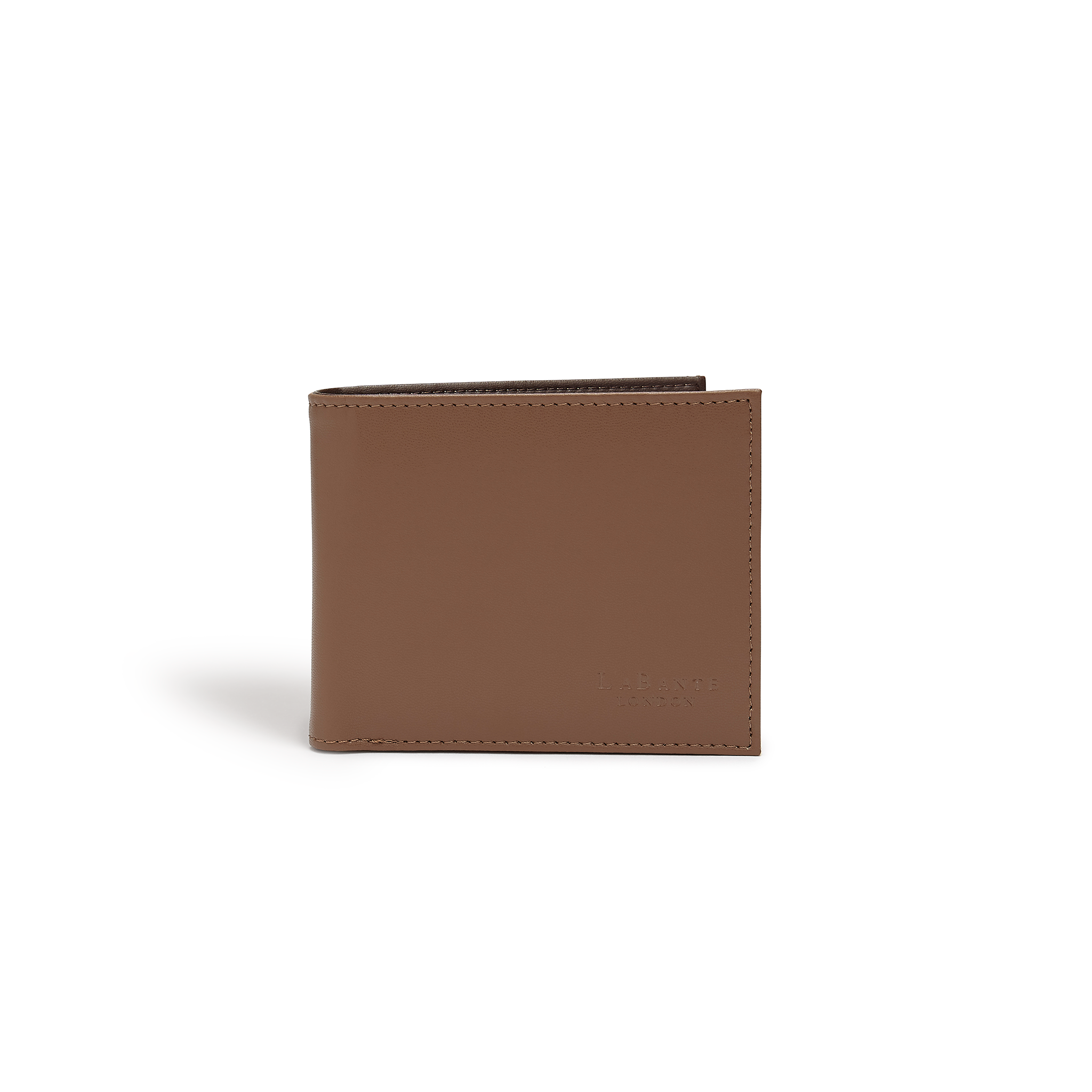 Brave Brown Vegan Sustainable Bifold Wallet
