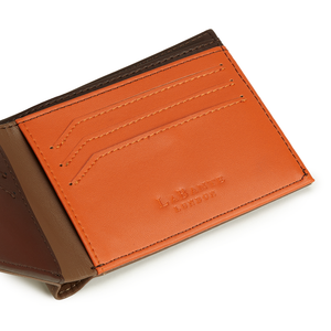 Brave Brown Bifold Wallet